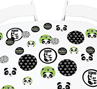 Big Dot of Happiness Party Like a Panda Bear - Baby Shower or Birthday Party Giant Circle Confetti - Party Decorations - Large Confetti 27 Count