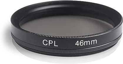Chiffon de Nettoyage en Microfibre smardy 46mm Single ND2 Filtre Compatible avec Canon Sony Nikon Samsung Fuji Pentax Olympus