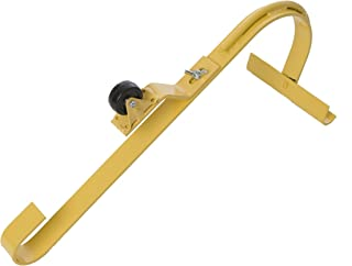 ACRO BUILDING SYSTEMS 11082 Acro Roof Ridge Ladder Hook with Fixed Wheel & Swivel Bar