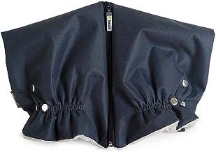 Hauck Universal Handwärmer für Kinderwagen und Buggy, Wasserdicht mit Fleece Innenseite atmungsaktiv – grau