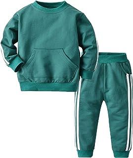 Forlcool TIK Tok con Cappuccio con Tasca e Pantaloni di Modo Copre Gli Insiemi per Le Ragazze del Ragazzo Primavera Felpa Pantaloni 2pcs