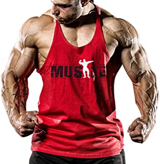 Alivebody Men's Athletic Basic Tank Top Sleeveless