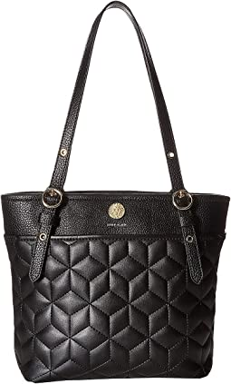 Quilted Geo Small Tote