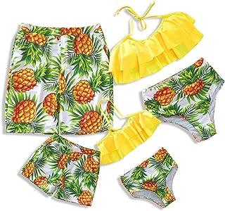 Family Swimsuit Newest Bikini Set Bathing Suit Mommy And Me Beachwear