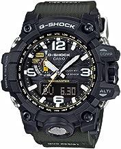 Casio G-Shock Mudmaster Black-Tone Dial Resin Quartz Men's Watch GWG1000-1A3