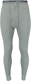 Men's Waffle Weave Thermal Underwear Bottoms