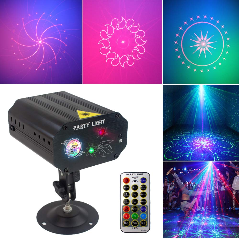 Activated Multiple Patterns Projector Decorations
