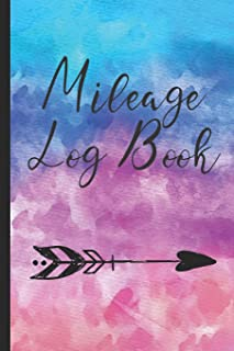 Mileage Log Book: Vehicle Journal