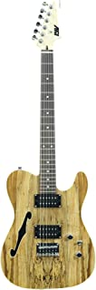 ivy ITF-300 NA Tele Solid-Body Electric Guitar, Natural