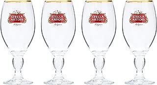 Stella Artois 4-Pack Original Glass Chalice, 33cl