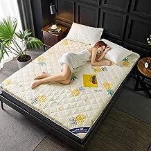 Tatami Mattress Topper Queen,Sanding Thicken Sponge Mattress Student Dorm Room Mattress Can Floor Shop,Fold,Reactive Print...