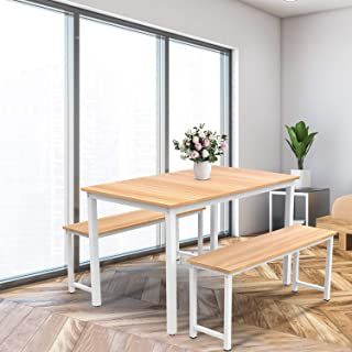 Hmlinktt Dining Table Set Kitchen Table and Chairs for 4...