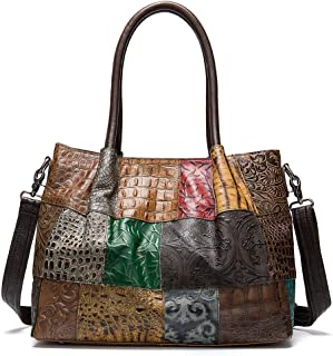 Fashion Woman Cow Leather Casual Shoulder Bag 86329