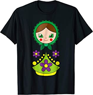Russian Nesting Stacking Doll Dolls Costume T-Shirt Group