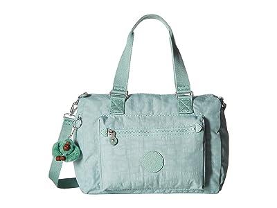 Kipling Lyanne Crossbody (Fern Green) Handbags