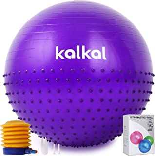 Kalkal Exercise Ball , 65cm Upgraded Anti Slip Yoga Ball...