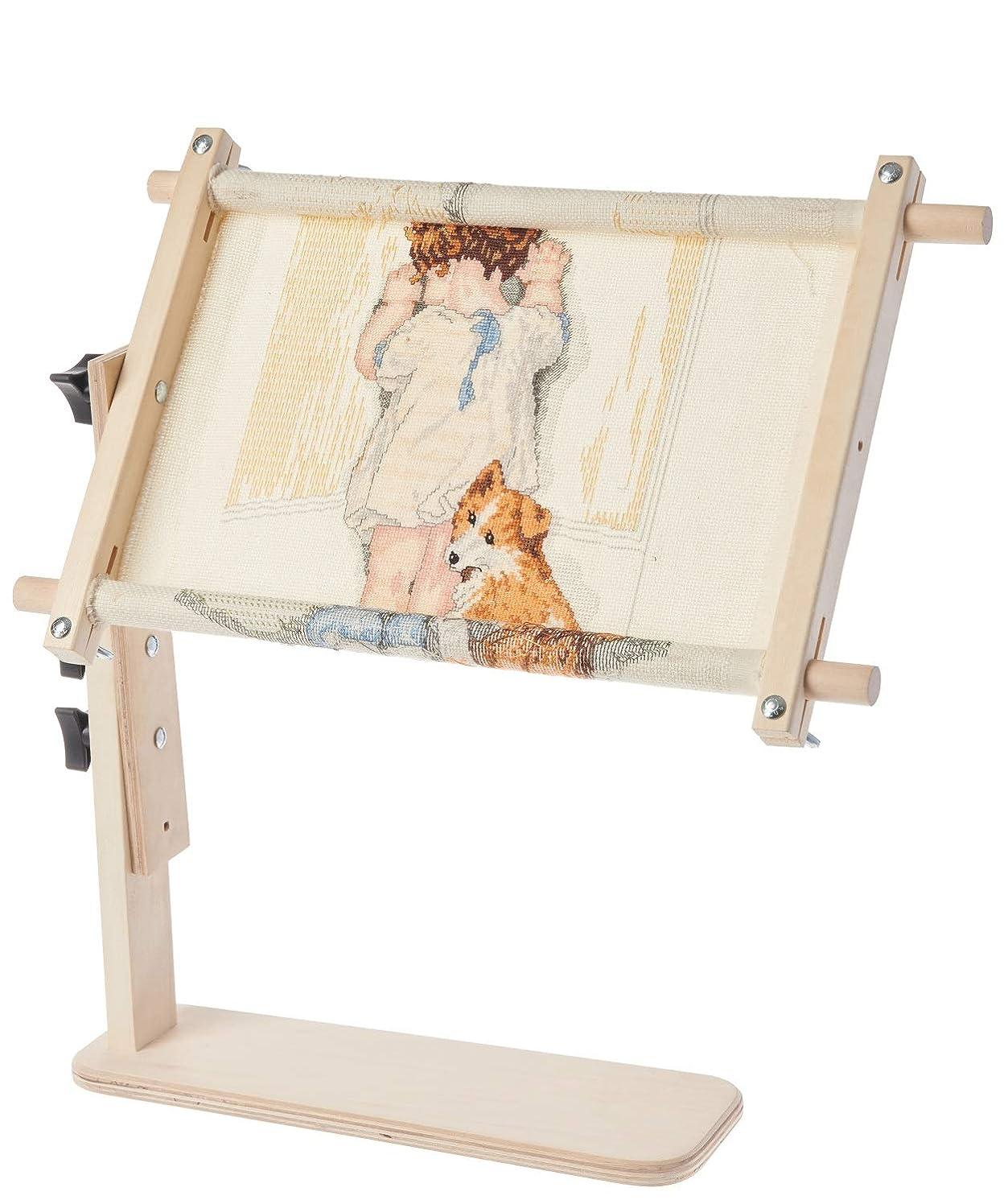 Frank A. Edmunds Sit-On Needlework Frame, 9
