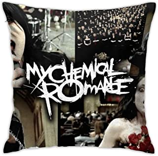 LiweizhiAPP My Chemical Romance Pillowcase Decorative Square Throw Pillow Covers Cushion Covers Personalized Pillowcase,18x18 Inch(45cm)