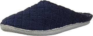Women's Quilted Microfiber Terry Clog Slipper