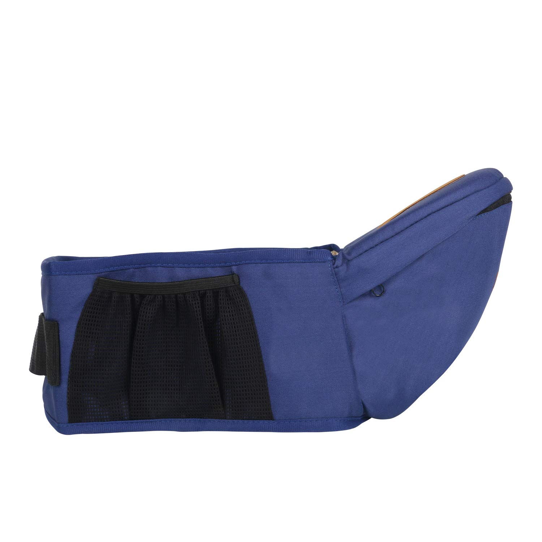 ThreeH Baby Hip Seat Belt Carrier Toodler Waist Stool Seat Carrier BC10,Blue