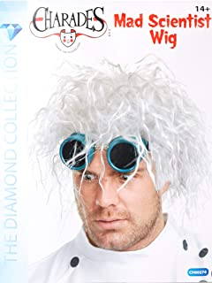 Charades Costumes - Mad Scientist Adult Wig