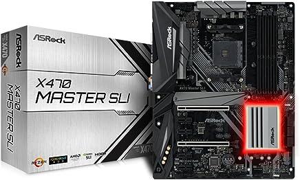ASRock AMD X470チップセット搭載 ATXマザーボード X470 MASTER SLI
