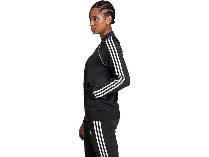 Fértil pirámide Contaminar  adidas Originals Superstar Track Jacket | Zappos.com