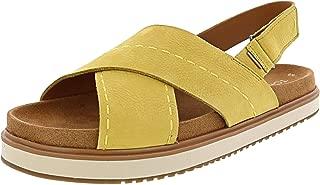 TOMS Women's Marisa Nubuk Ankle-High Leather Sandal