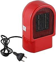 TOOGOO Calentador EléCtrico Ventilador Invierno de Manos PTC CeráMica Calentamiento RáPido Estufa Caliente Radiador de Fice Escritorio Ventilador de Aire Caliente (Enchufe de la UE)