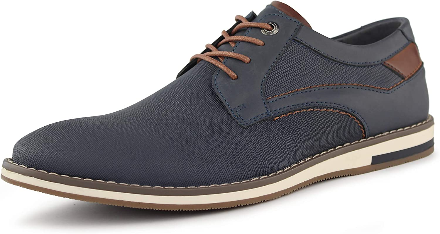 MERRYLAND Men's Casual Lace Up Oxford Shoes
