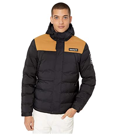 Timberland Outdoor Archive Puffer Jacket (Black/Wheat Boot) Men