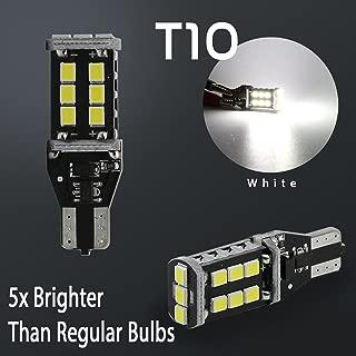 T10 921 912 LED Reverse Back Up 3RD Brake High Mount Stop Light Bulbs 6000K White 60W High Power 3535 Chip