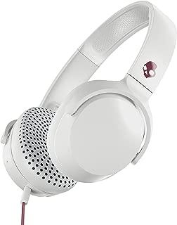 Skullcandy S5PXY-L635 Riff On-Ear Headphones with Microphone - Vice/Gray/Crimson