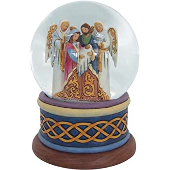 Jim Shore Christmas Holy Family Waterball O Holy Night New 4060586 Sale!