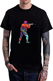 CSGO Adult Novelty Funny Short Sleeve Cotton T Shirt
