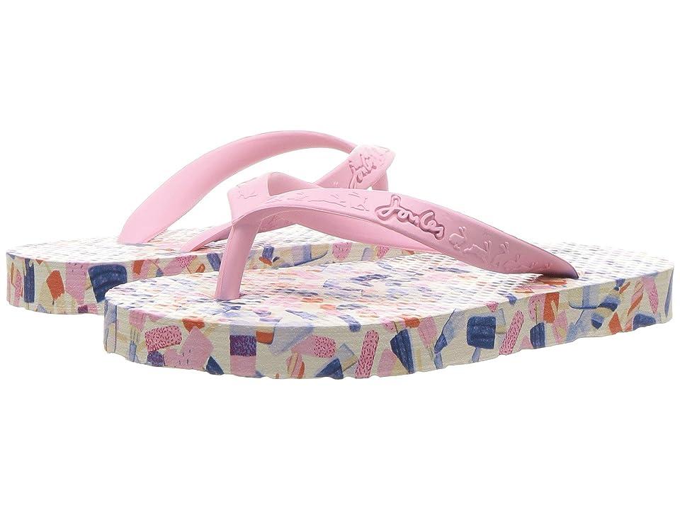 Joules Kids Flip-Flop (Toddler/Little Kid/Big Kid) (Lolly Ditsy) Girls Shoes