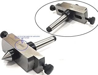 LATHE'S TAILSTOCK ATTACHMENT FOR METAL-TURNING IN TAPER PROFILE // EASY ENGINEERING MACHINE TOOL ACCESSORIES TO GIVE FREEDOM FROM OFF-SETTING THE TAILSTOCK OF YOUR LATHE MACHINE (MORSE TAPER 2MT)