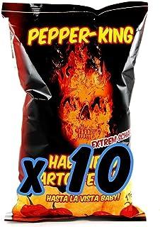 Pepper-King Habanero Kessel Chips 10x125g
