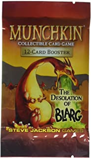 Munchkin Collectible Card Game Series 2 Booster Box: The Desolation of Blarg - 24 Packs