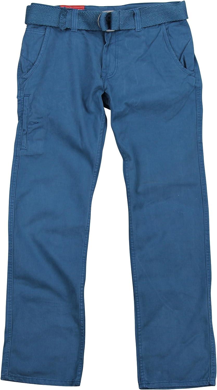 Jordan Craig Men's Belted Twill Casual Pants