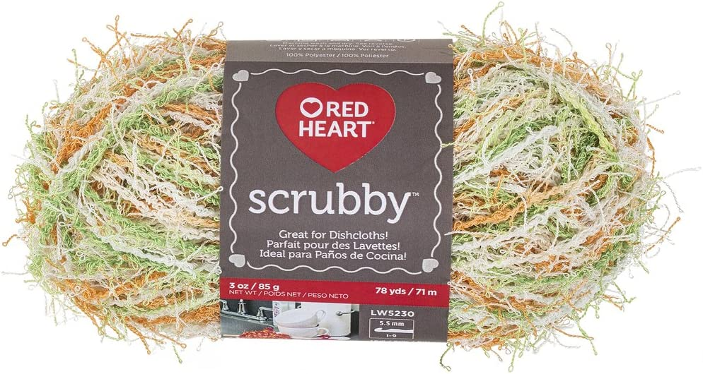 Ranking TOP8 RED HEART Scrubby Sale price E833.0984 Citrus Yarn
