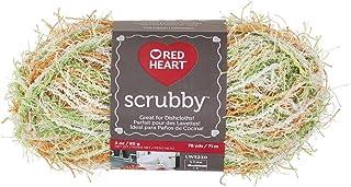 RED HEART Scrubby Yarn, Citrus (E833.0984)