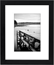 Americanflat 8x10 Picture Frame, Black