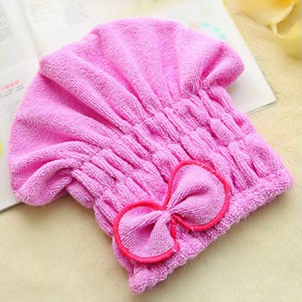 操縦するステートメントアジアQuzama-JS おしゃれなコーラルシャワーシャワー水浴びヘアスタイルタオル浴室衣類(None purple)