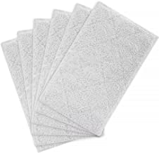 Laukowind Cleaning Mop Pads Replacement Compatible with Light n Easy S3101, S7326, S3601 Floor Steam Cleaner Microfiber Washable 6Pack Floor Mop Replacement Pads