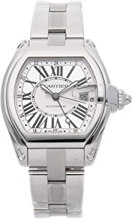 Cartier Roadster Mechanical (Automatic) Silver Dial Mens Watch W62032X6 (Certified Pre-Owned