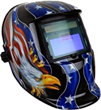 Instapark ADF Series GX-500S Solar Powered Auto Darkening Welding Helmet with Adjustable..
