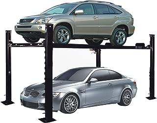 APlusLift HW-8S 8,000LB 4-Post Portable Storage Car Lift Heavy Duty Car Auto Truck Hoist / 12 Months Parts Warranty