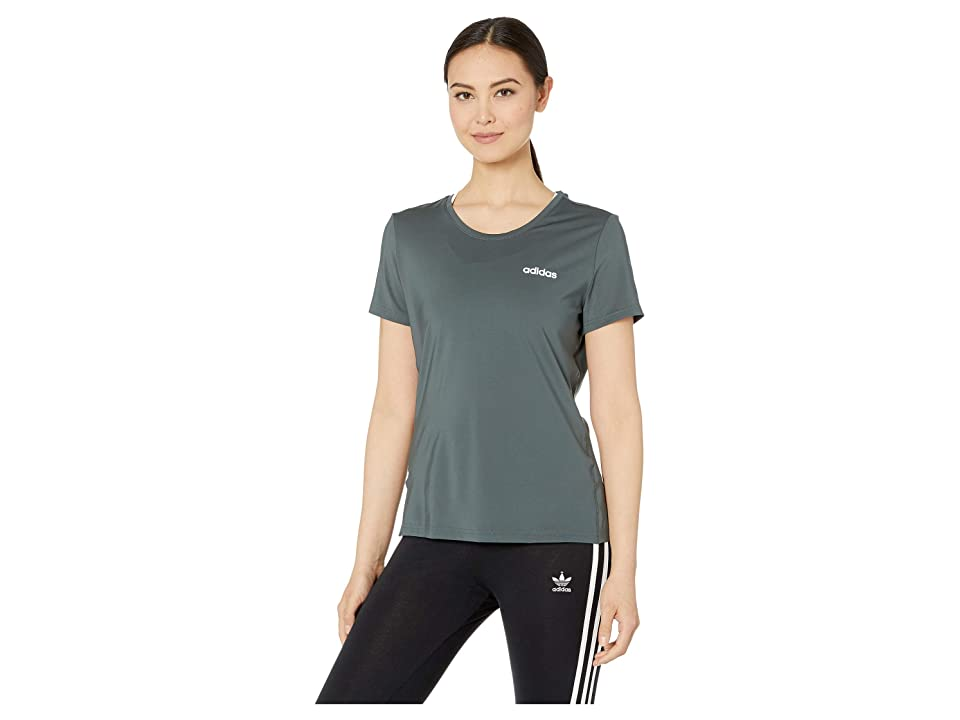 adidas Designed-2-Move Solid Tee (Legend Ivy) Women