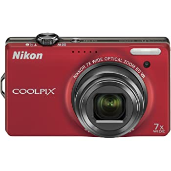 Nikon デジタルカメラ COOLPIX (クールピクス) S6000 フラッシュレッド S6000RD